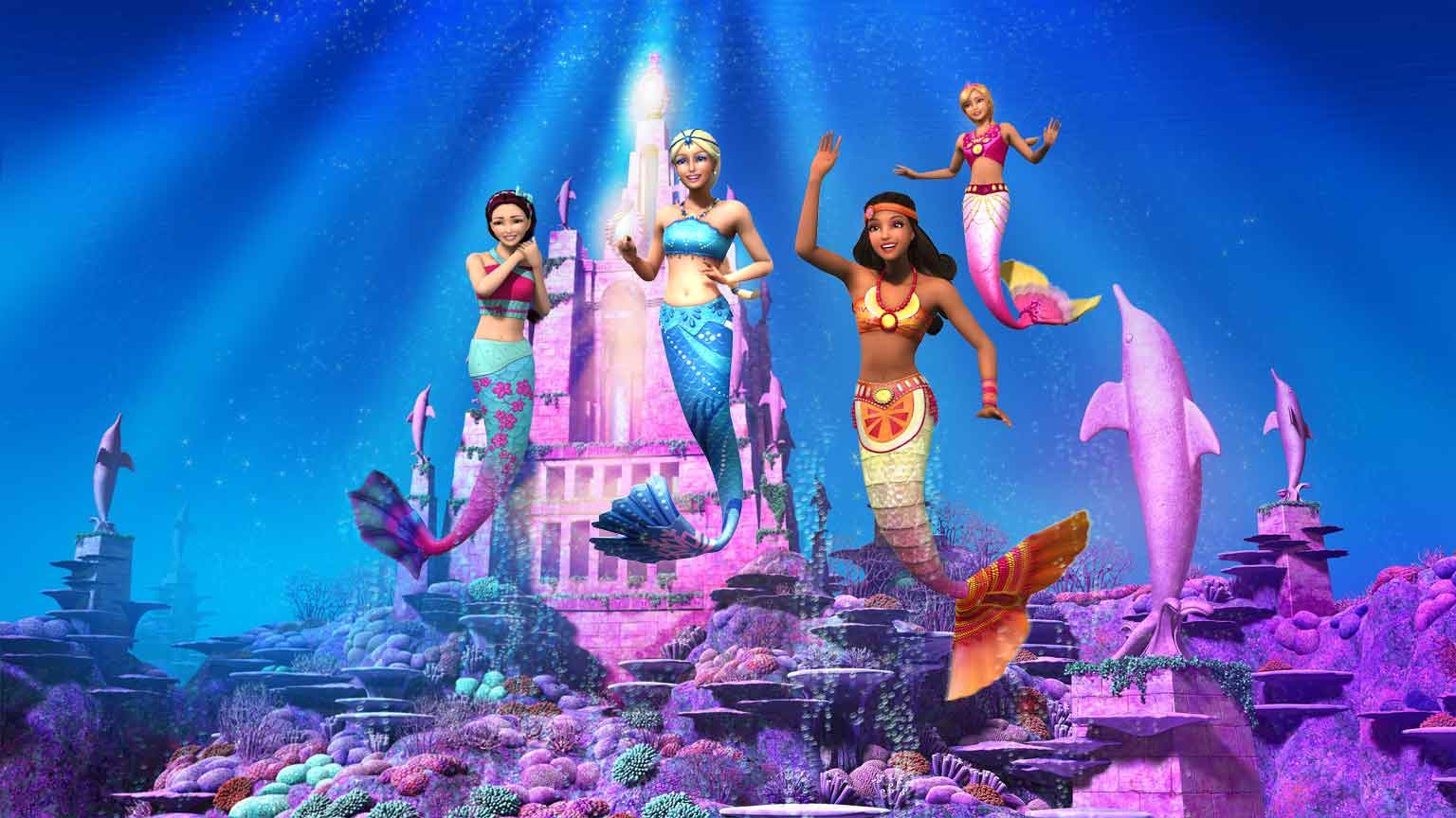 Children 39 s dvd review barbie in a mermaid 39 s tale 2 london mums magazine - Barbi sirene 2 film ...