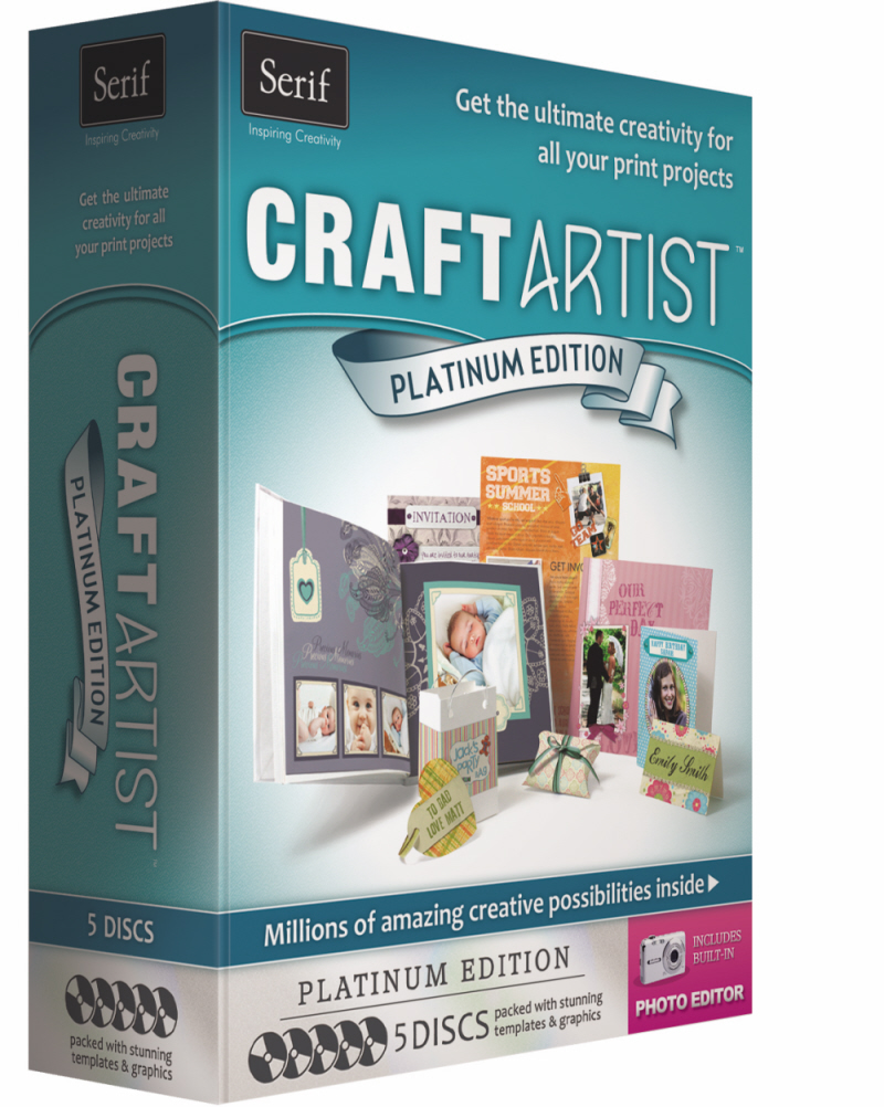 Win 1 of 2 copies of CraftArtist Platinum (worth £39.99 each)