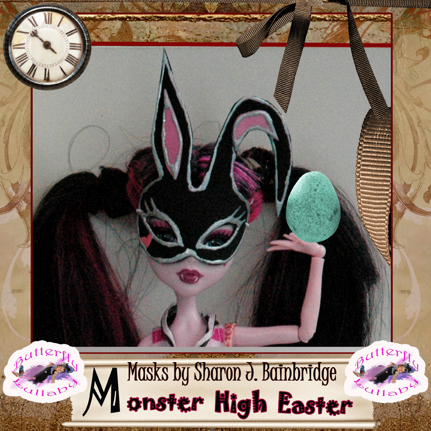 Monster high easter egg bunny masks london mums magazine - Masque monster high ...