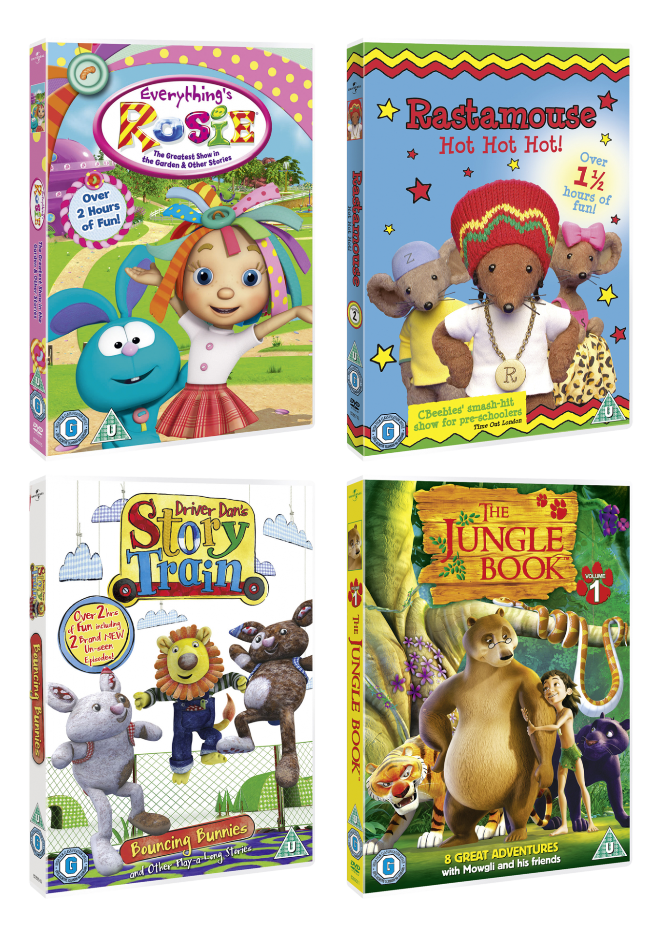 New kids&#8217; DVD releases