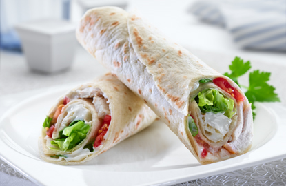 Al Fresco Feasts part 3: Summery Chicken Salad Wrap