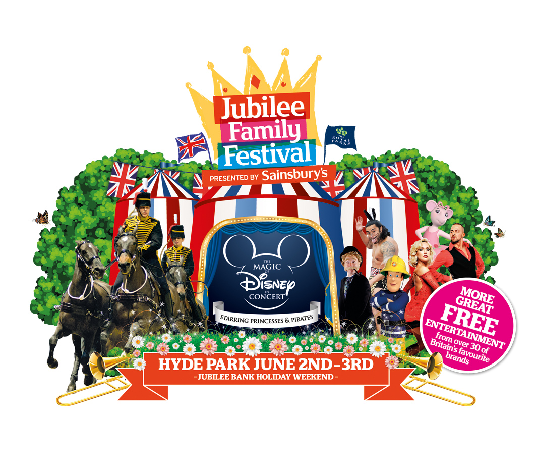 Win 1 family pass to the Jubilee Family Festival (Hyde Park, Sun 3 June 2012)
