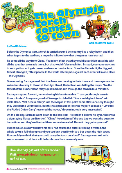 Olympic Torch Relay exclusive fun story!