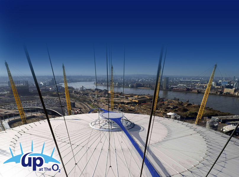 London's newest attraction: Up at The O2 – Climb an icon