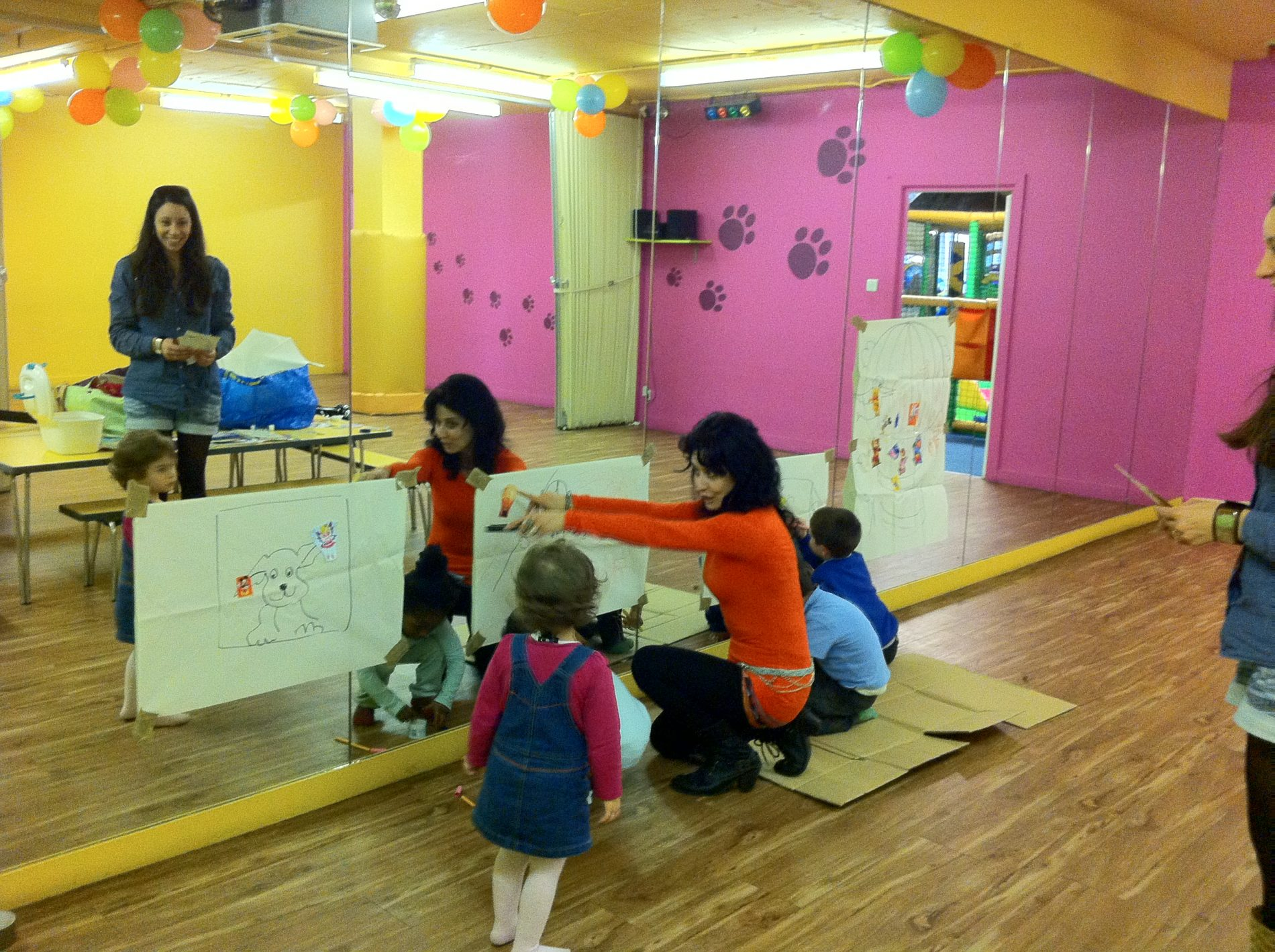 London Mums' playgroup with a twist