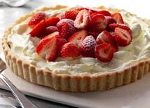In a Flash Strawberry Tart