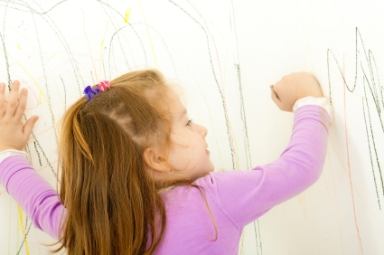 Why you shouldn't stop your toddler from writing on your walls