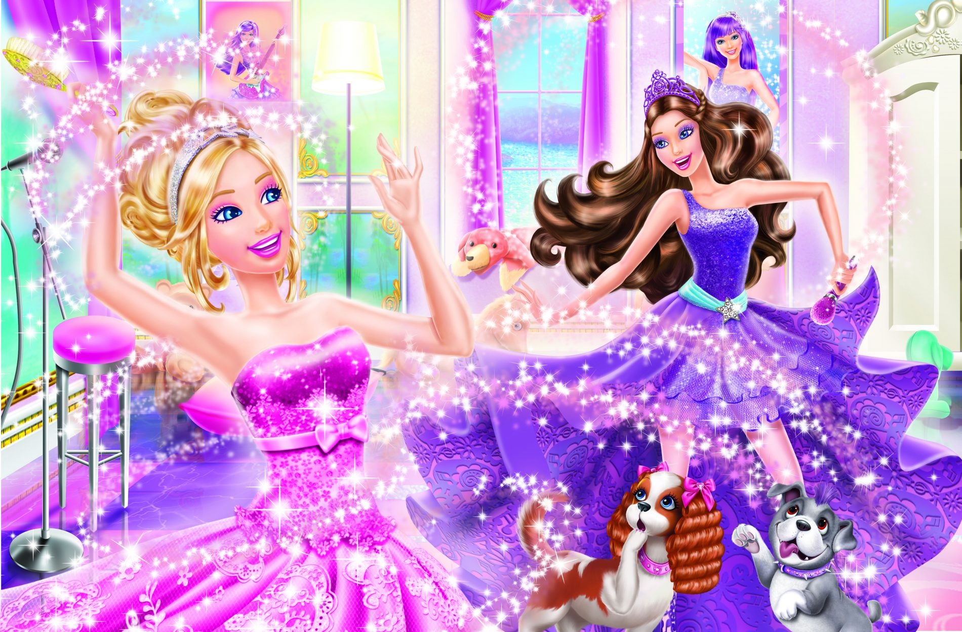 Barbie™ the princess &; the popstar is also available for digital