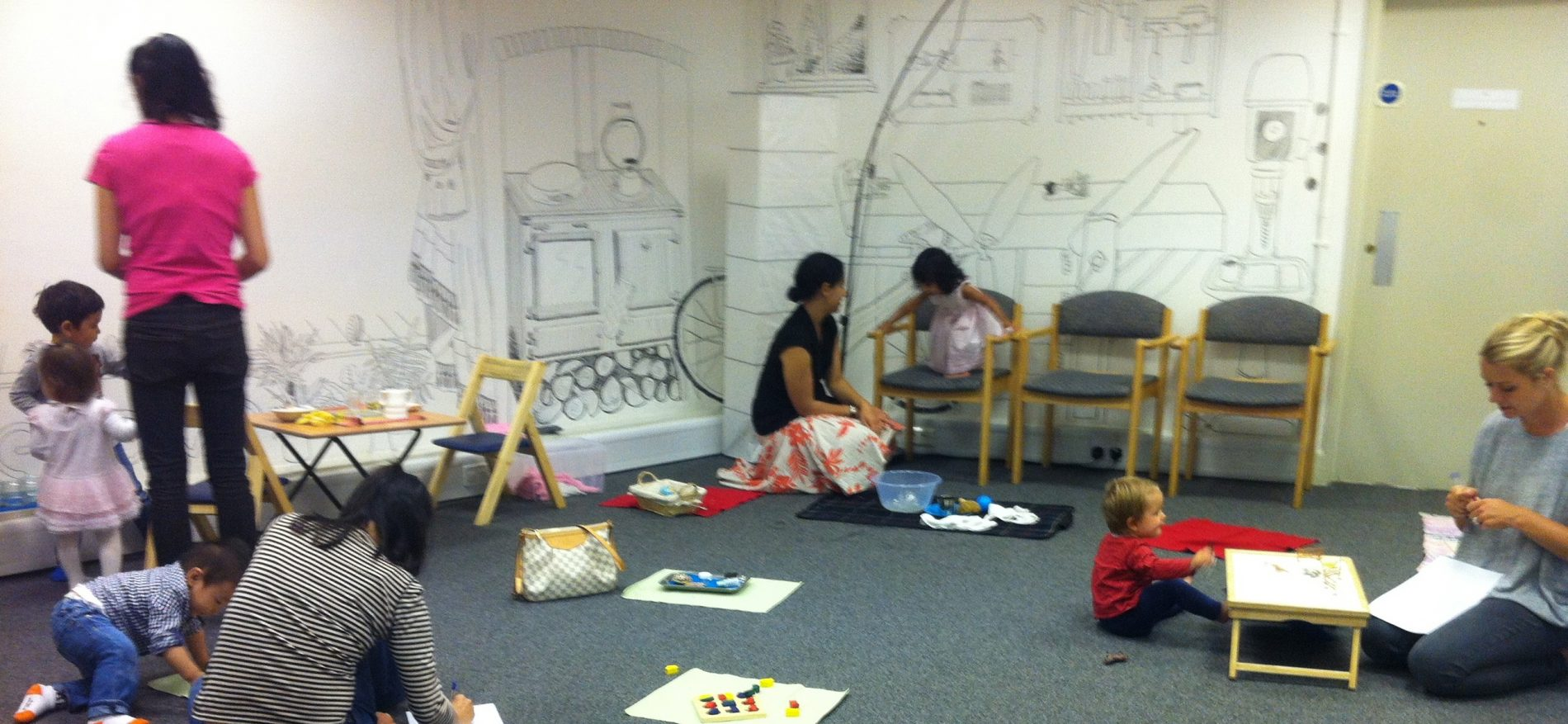Montessori playgroup in South Kensington
