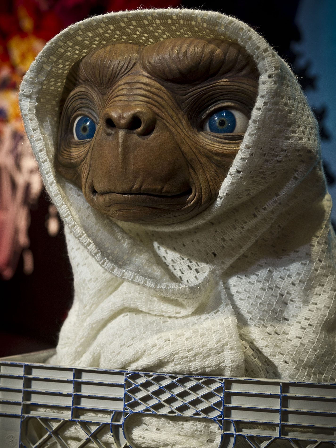 E.T. THE EXTRA TERRESTRIAL Arrives At Madame Toussaud