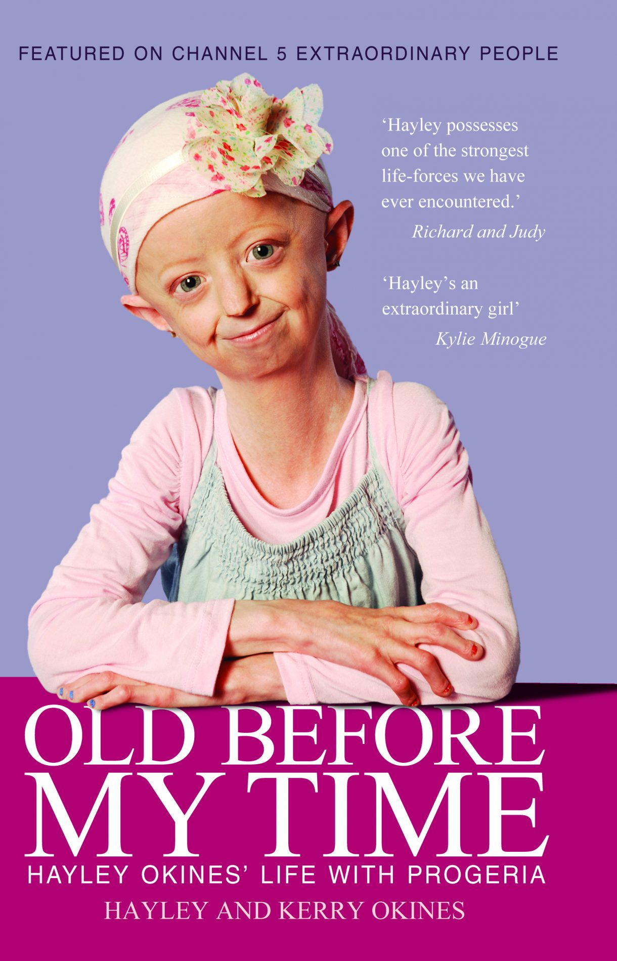 14 year old hayley okines has co written a book about her