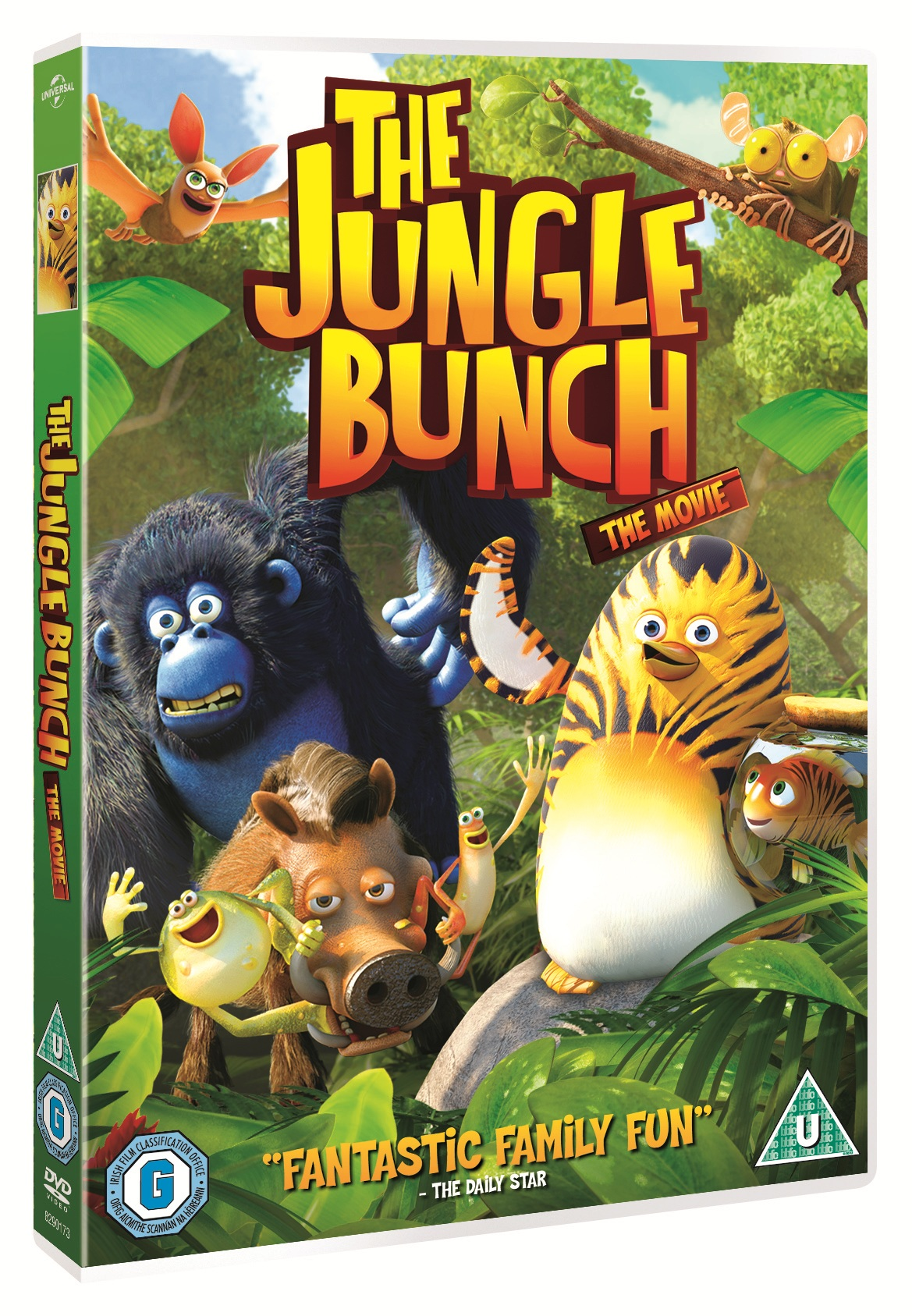 Win 1 of 10 'The Jungle Bunch' DVDs