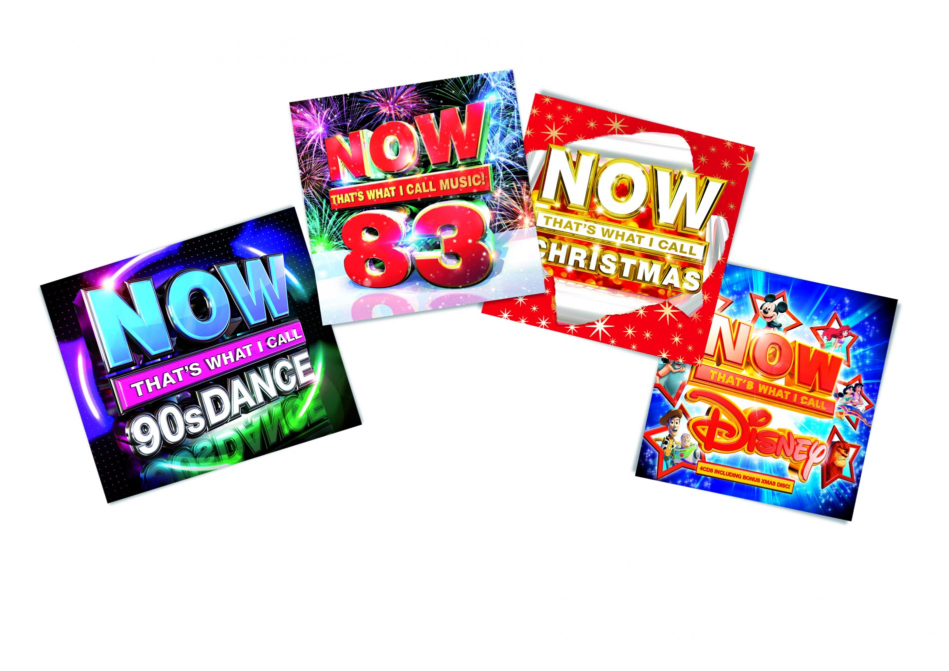 Win of 3 sets of NOW CDs in time for Christmas