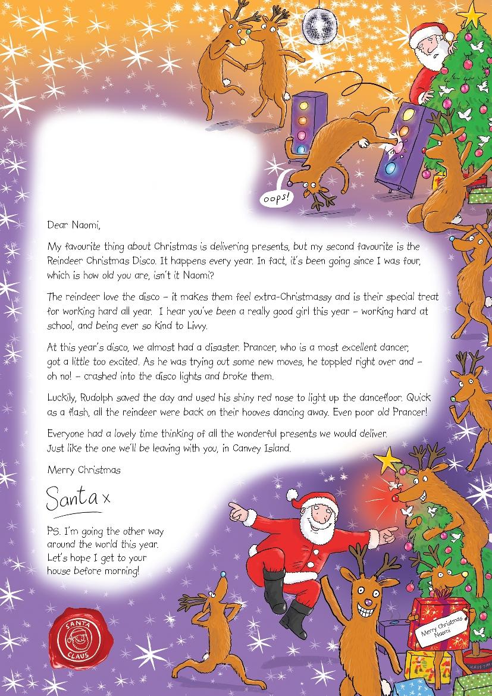 Letter from Santa - London Mums Magazine