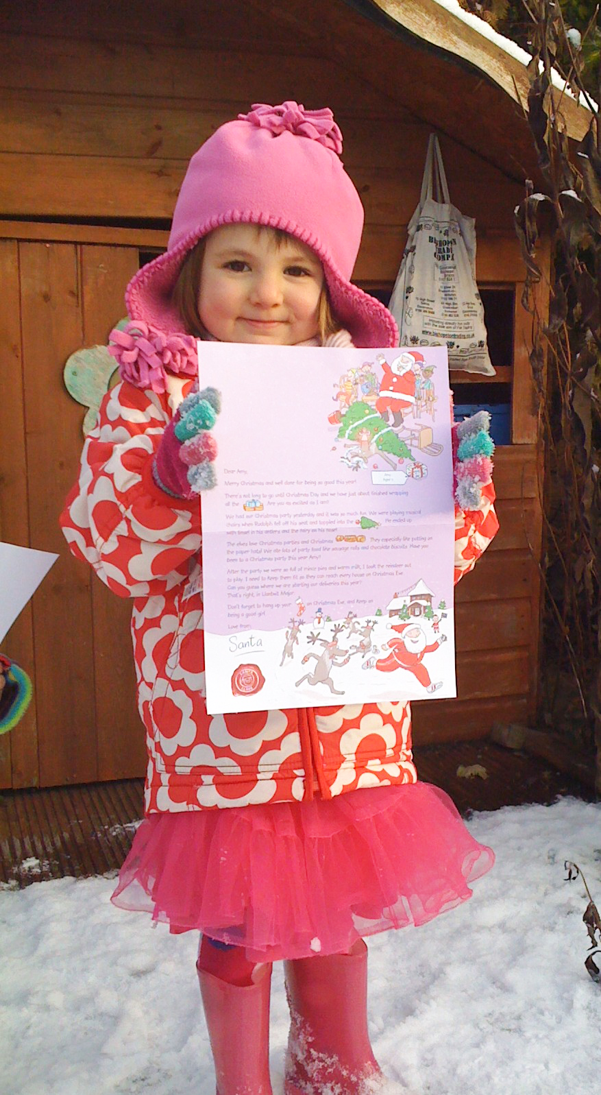 Letter From Santa  London Mums Magazine