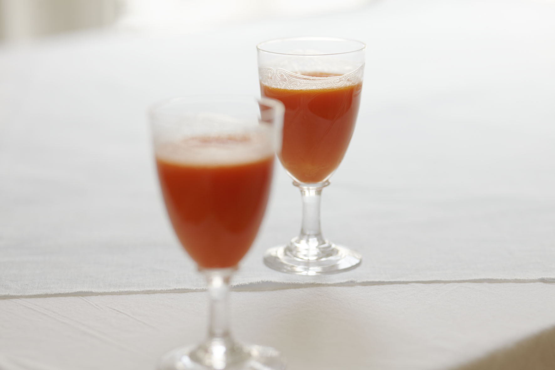 Recipe: Ginger, carrot and apple juice