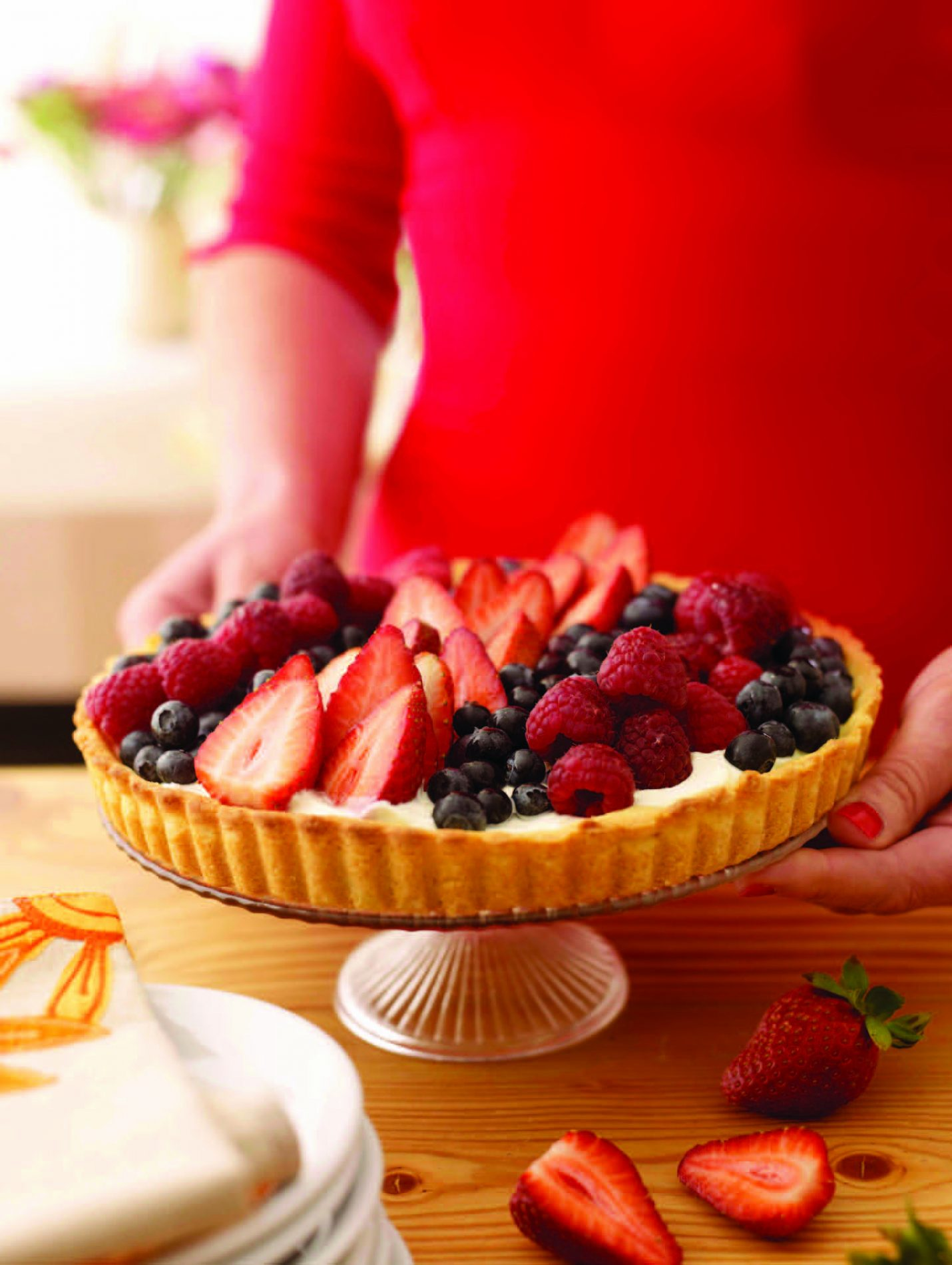 Recipe: Crostata di Frutta Fresca – FRESH FRUIT TART
