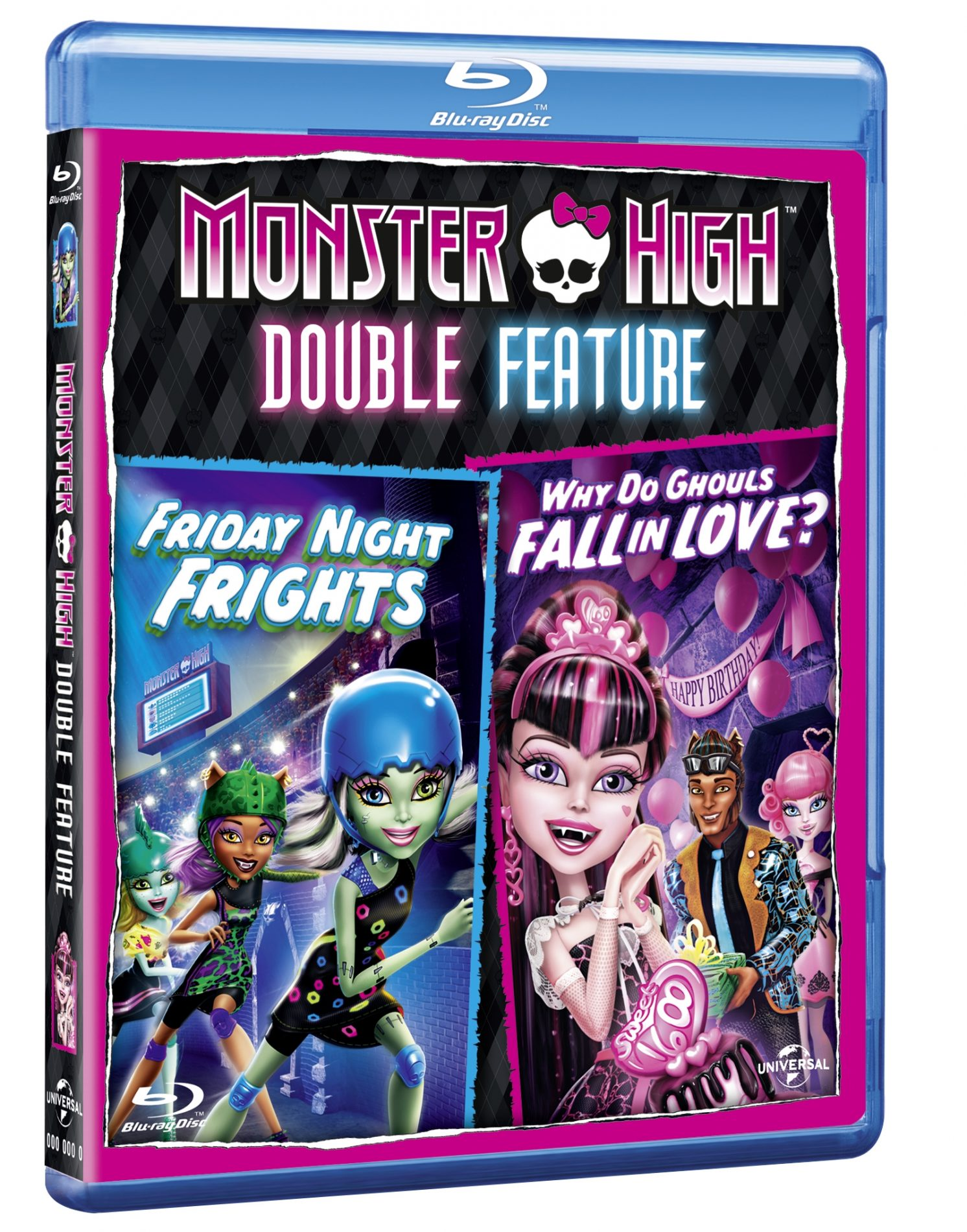 Win 1 of 3 copies of new DVD &#8216;Monster High: Why Do Ghouls Fall in Love and Monster High: Friday Night Frights&#8217;