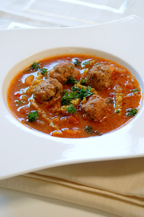 Recipe: Spicy Meatball Soup