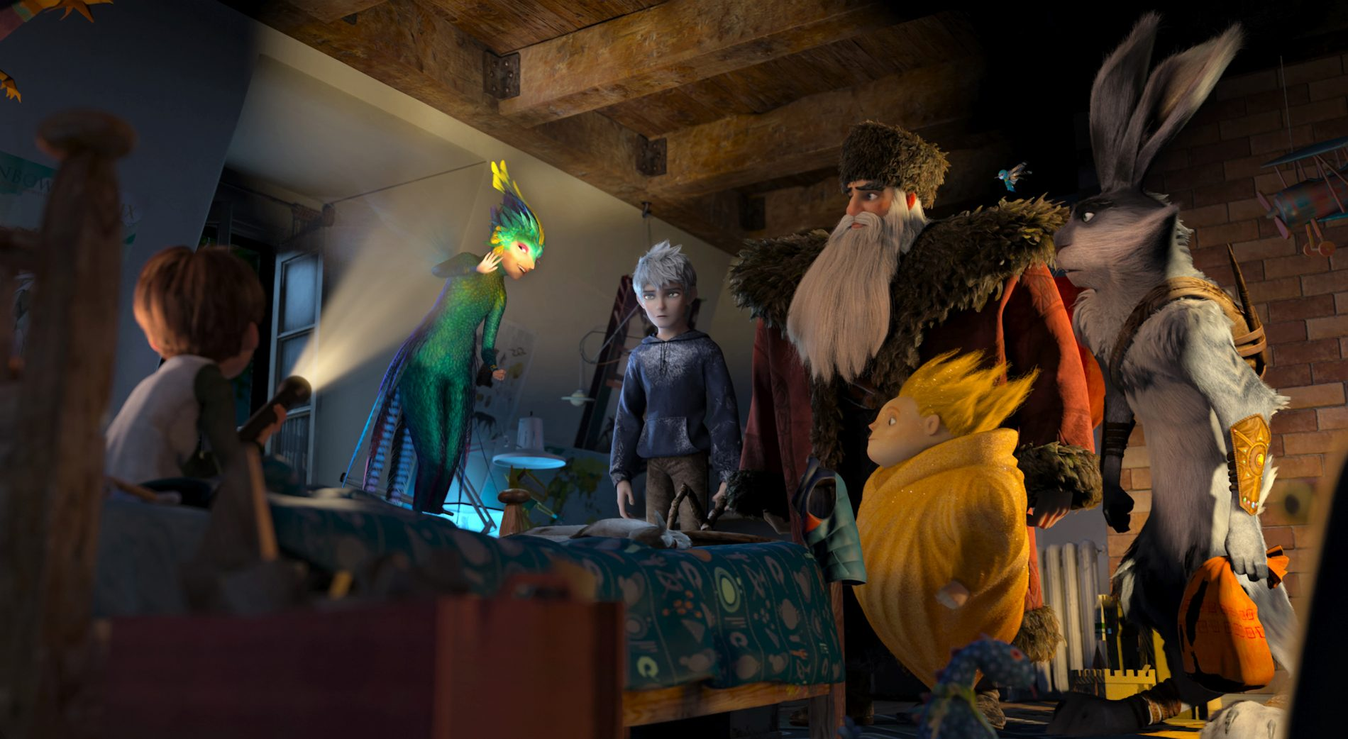 Win 1 of 3 'Rise of the Guardians' DVDs