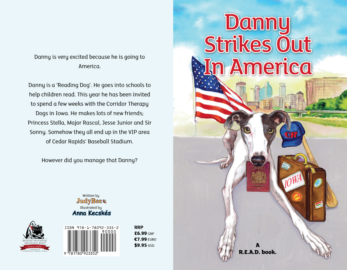 Win 1 of 5 'Danny Strikes out in America' pawtographed books