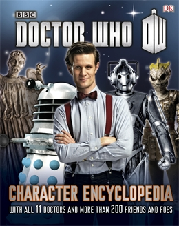 Win1 of 5 copies of the Doctor Who Character Encyclopedia