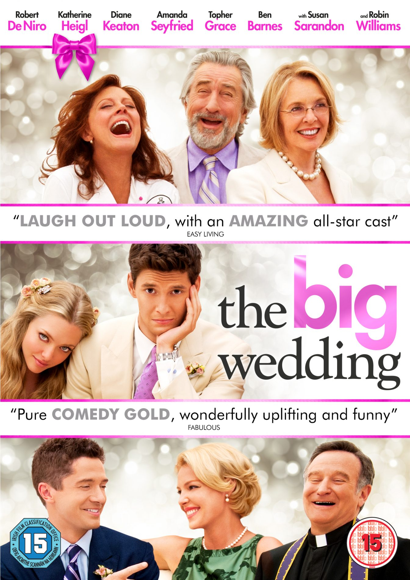 Film review: THE BIG WEDDING - London Mums Magazine