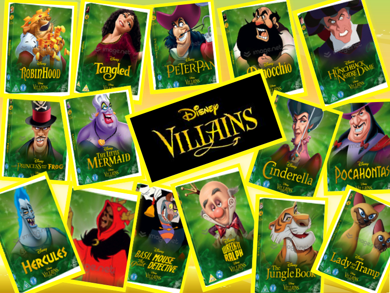 For the first time enjoy all of your favourite villains at your peril