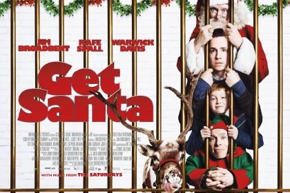 Film poster Quad_AW_[26815] Get Santa