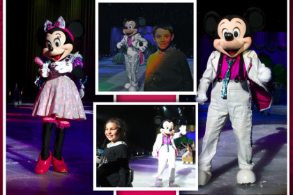 London Mums magazine Kids Club at Disney on Ice collage
