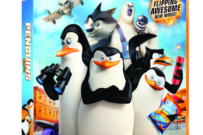 comp penguins of Madagascar DVD 3D