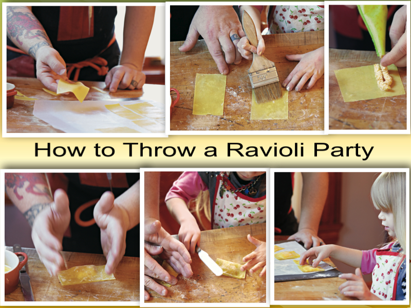 Recipes how to throw a ravioli party london mums magazine for How to throw a big party