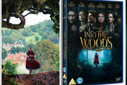 Into The Woods Blu Ray London Mums magazine competition