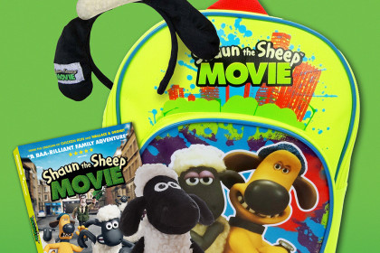 SHAUN the sheep prize BUNDLE competition