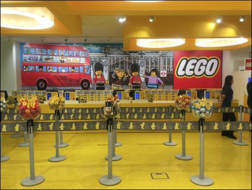 New London themed Lego store opens in Leicester Square ...