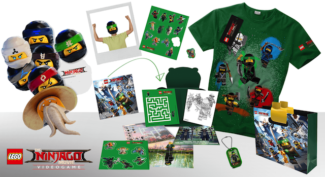 Win 1 of 5 awesome activity sets with The LEGO® NINJAGO® Movie Video ...