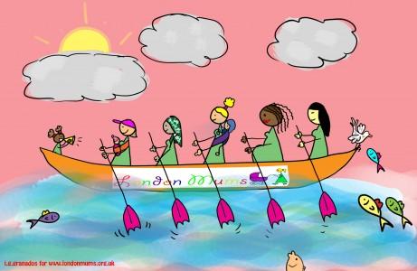 london mums boat racing