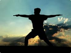 wellness Yoga at Sunset