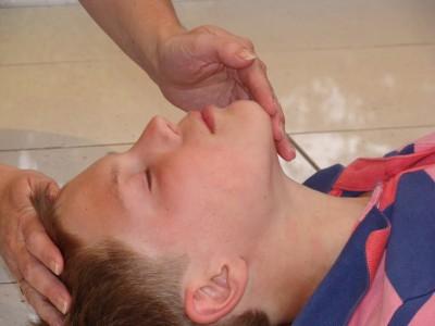 child resuscitation child open airway