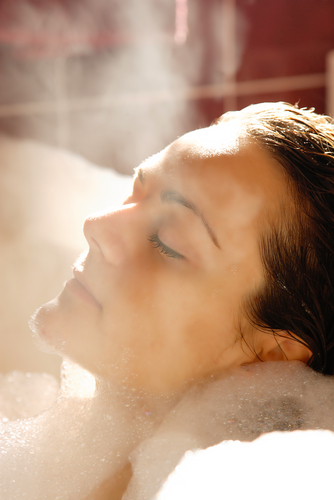 woman in relaxing bath shutterstock34