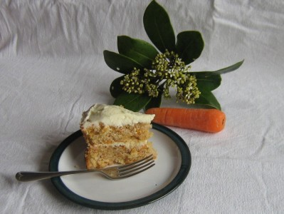 Dairy Free Carrot Cake