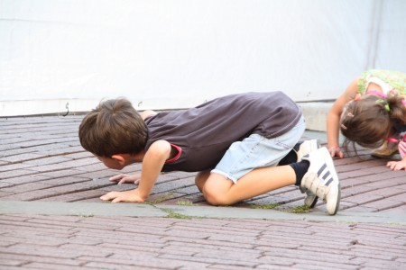 curious children Italy