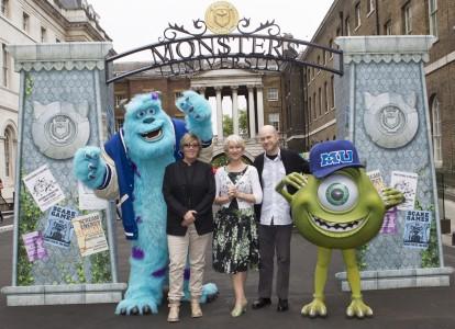 Disney/Pixar's Monsters University European Press Junket