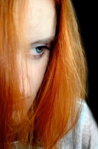 Sad Woman Mood Sadness Thoughts View Distrust