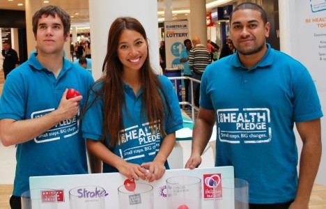 health The Big Health Pledge team