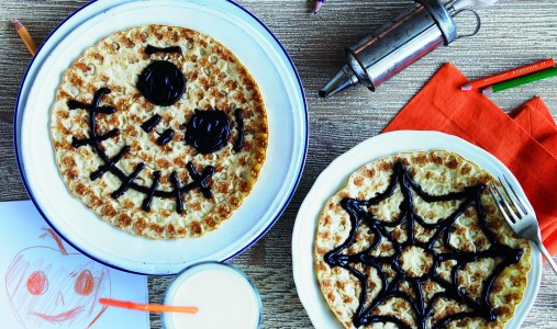 recipe halloween pancakes