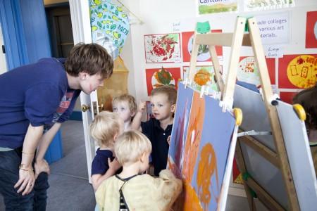 London Men in Childcare Network Connor Bathgate, Deputy Manager, LEYF Carlton Hill Community Nursery 2