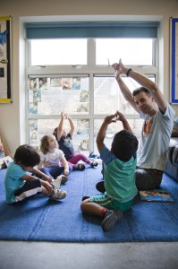 London Men in Childcare Network Richard Lester, Manager, LEYF Furze Childrens Centre Community Nursery