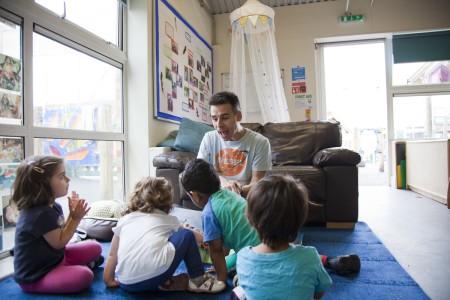 London Men in Childcare Network Richard Lester, Manager, LEYF Furze Childrens Centre Community Nursery 2
