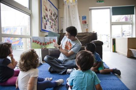 London Men in Childcare Network Richard Lester, Manager, LEYF Furze Childrens Centre Community Nursery 3